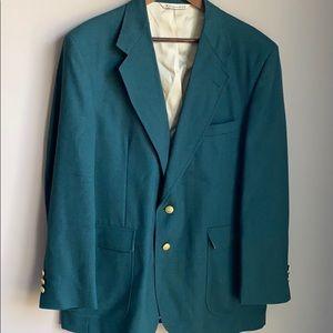Stafford Men's Suit/Sport Coat Green 44R